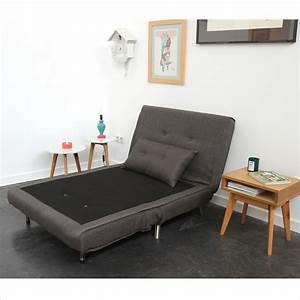 Canapé Lit Une Place : chauffeuse 1 place convertible murphy par drawer ~ Teatrodelosmanantiales.com Idées de Décoration