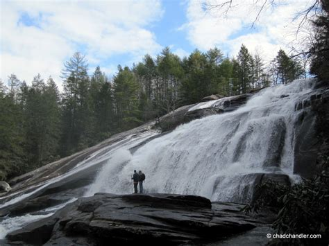 triple falls  dupont state park chad chandler