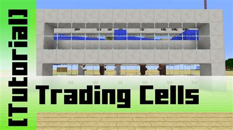 automatic villager trading cells tutorial minecraft