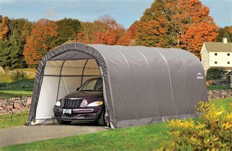shelterlogic garage in a box roundtop