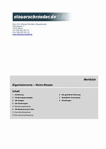 Riester Förderung Rechner : wohnriester rechner steuer kostenlos online ~ Watch28wear.com Haus und Dekorationen