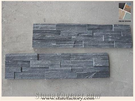 Slate Veneer Fireplace - slate fireplace surround black culture slate veneer