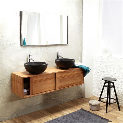 meuble de salle de bain en teck leroy merlin bois teck leroy merlin trendy meuble de salle de bain my
