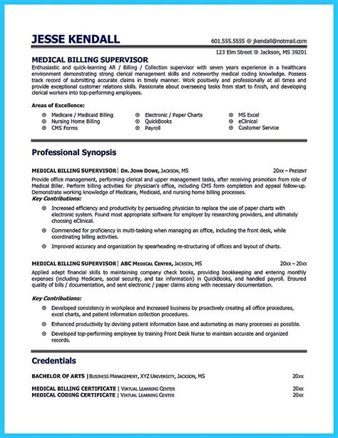 Billing Specialist Resume Exles by Cool Exciting Billing Specialist Resume That Brings The