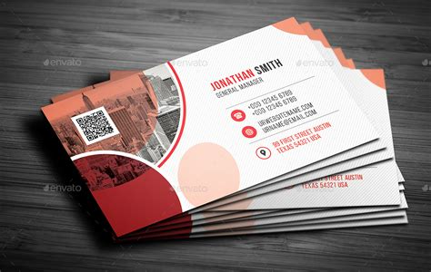 corporate business card  dkgray graphicriver