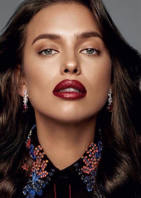 Irina Shayk Wears Fall's Best Makeup Looks for Glamour ...