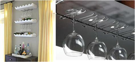 Appendi Bicchieri Bar by Mini Bar Angolo Di Relax Fai Da Te Con Porta Bicchieri