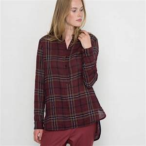 La Redoute France : lyst la redoute checked blouse made in france in red ~ Dallasstarsshop.com Idées de Décoration