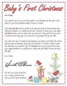 15 printable letters from santa spaceships and laser beams for Baby s first christmas letter from santa