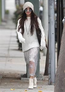 Vanessa Hudgens Street Style - Shopping in Beverly Hills ...