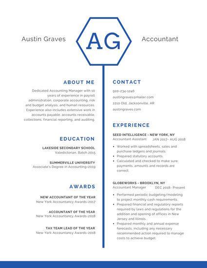 customize  professional resume templates  canva