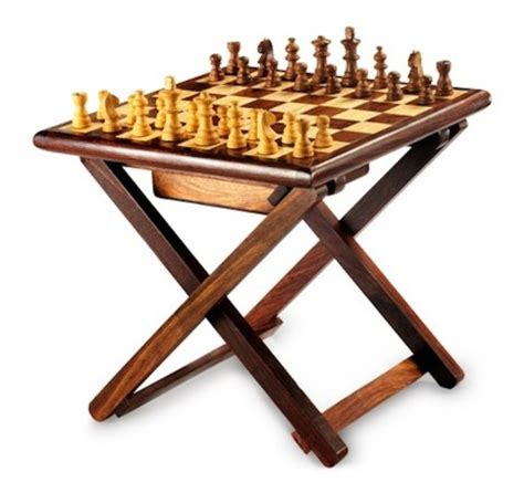 Foldable Chess Table