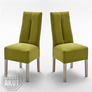 Stuhl Sonoma Eiche : stuhl 2er set fanny polsterstuhl esszimmerstuhl kiwi gr n sonoma eiche neu ebay ~ Eleganceandgraceweddings.com Haus und Dekorationen