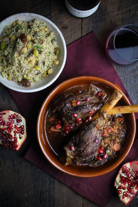 moroccan dinner moroccan braised lamb shanks la crema