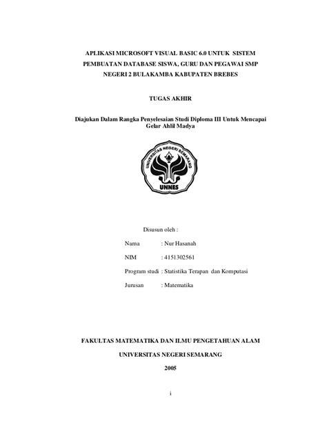 Kumpulan Judul Contoh Skripsi Pendidikan | contoh judul