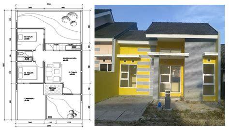 contoh gambar desain rumah minimalis  lantai tampak