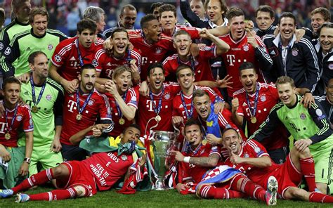 2012–13 FC Bayern Munich season - Wikipediaen.m.wikipedia.org › wiki…13…Bayern…The 2012–13 FC Bayern Munich season was the 114th season in the club's history and the 48th consecutive season in the top flight of German football, the Bundesliga, since the promotion of the team from the Regionalliga Süd in 1965. Before the st... Read moreThe 2012–13 FC Bayern Munich season was the 114th season in the club's history and the 48th consecutive season in the top flight of German football, the Bundesliga, since the promotion of the team from the Regionalliga Süd in 1965. Before the start of the season, Bayern signed Xherdan Shaqiri, Dante, Claudio Pizarro, Mitchell Weiser, Tom Starke and Mario Mandžukić. Bayern also added holding midfielder Javi Martínez after the first week of the Bundesliga season at the transfer deadline. The club... Hide2013–14 FC Bayern Munich season - Wikipediaen.m.wikipedia.org › …2013–14…Bayern…The 2013–14 FC Bayern Munich season is the 115th season in the club's history and the 49th consecutive season in the top flight of German football, the Bundesliga, since their promotion from the Regionalliga Süd in 1965. Bayern will also partici... Read moreThe 2013–14 FC Bayern Munich season is the 115th season in the club's history and the 49th consecutive season in the top flight of German football, the Bundesliga, since their promotion from the Regionalliga Süd in 1965. Bayern will also participate in this season's editions of the DFB-Pokal, DFL-Supercup, UEFA Champions League, UEFA Super Cup, and FIFA Club World Cup. Hide(document.querySelector(
