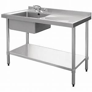 meuble de cuisine avec evier inox autres vues vier inox With marvelous photo de meuble de cuisine 12 evier 1 bac avec meuble