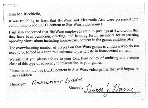 users defend ea  anti gay activists sends complaints