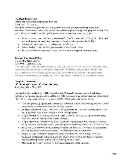 wayne gillespie resume 2a