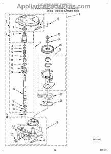 Parts For Roper Ras8245eq1  Gearcase Parts