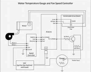 Electric Porsche  Controlling A Blower