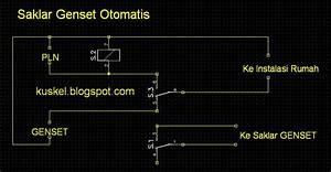 Wiring Diagram Panel Otomatis Genset