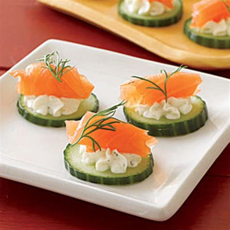 salmon canapes easy appetizers for your festivities