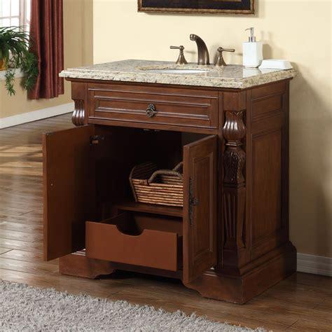 36 bathroom vanity with granite top accord 36 inch single sink bathroom vanity venetian