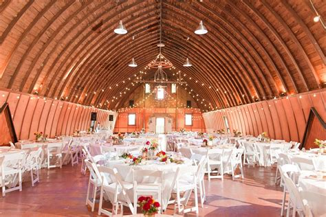 Barn Wedding Ceremony : Ceremony Turned Into Reception. Large High Ceiling Barn