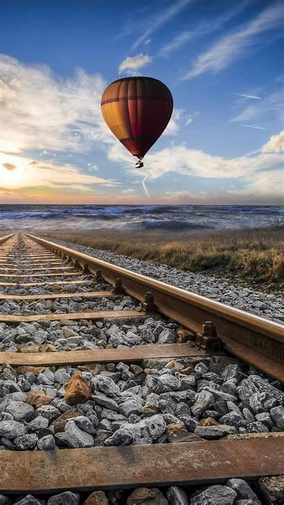4k Mobile Railroad Wallpapers Smartphone Train Sfondo
