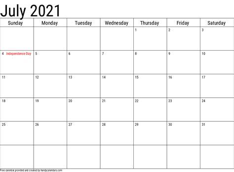 calendar  holidays templates handy calendars