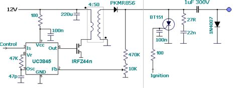 Need Help On High Energy Cdi (capacitive Discharge Ignition