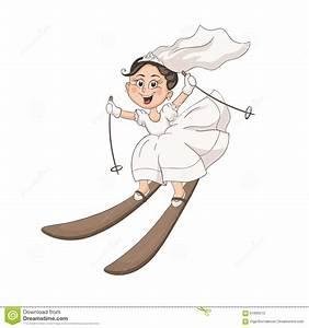 Cartoon Bride And Groom Stock Vector - Image: 61699215