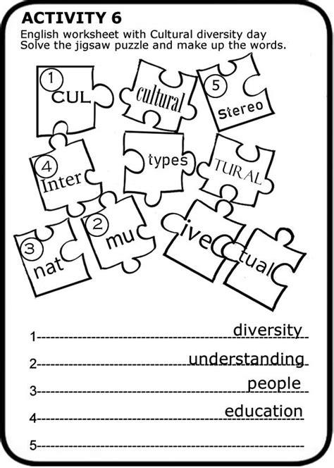 cultural diversity day worksheets  print letter