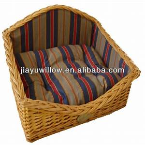 wholesale handmade wicker dog basketwicker pet bed basket With cheap dog baskets