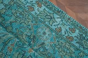 tapis ancien tapis turc tapis bleu bleu turquoise With tapis laine bleu