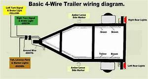 3 Wire Trailer Light Wiring Diagram