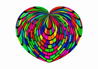 Venus Uranus Heart Trine Giving Coloured Multi