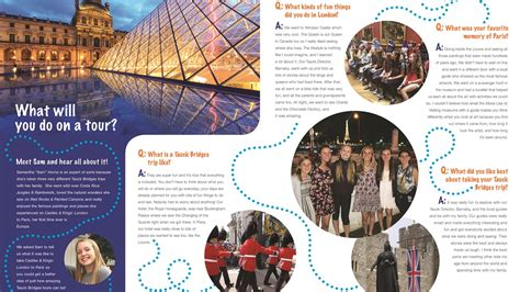 tauck produces brochure   kids travel weekly