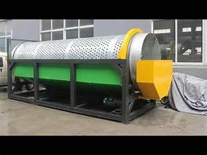 Line Separator Rs 1500 Trommel Machine Trommel Screen Trommel Separator