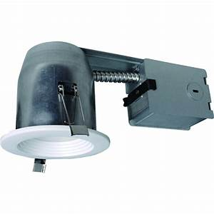 Utilitech pro white led remodel recessed light kit