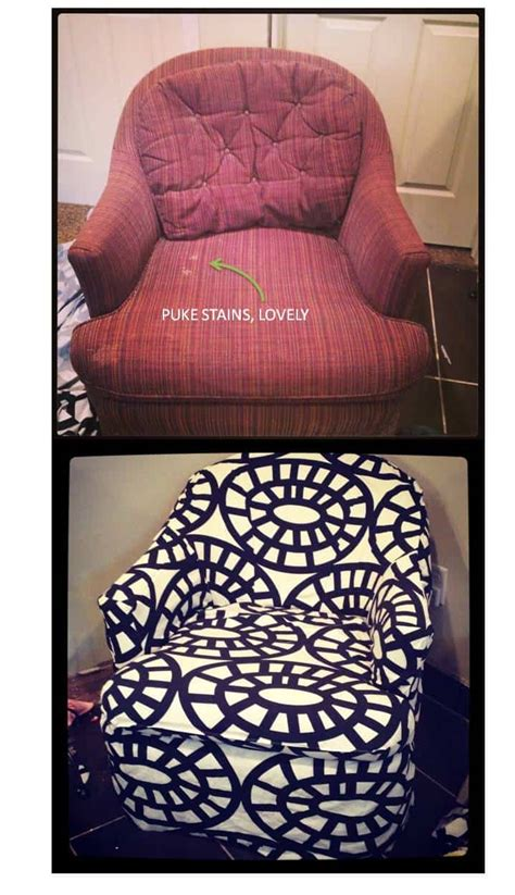 diy reupholstering furniture ideas