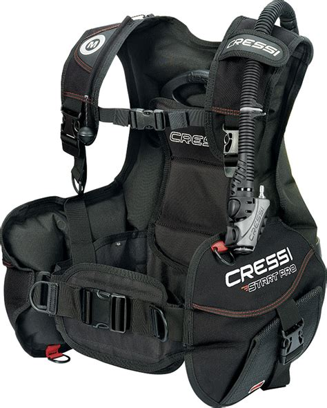 bcd dive cressi start pro bc bcd weight integrated buoyancy