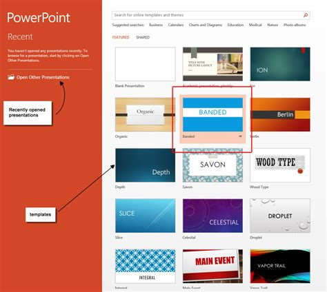 add template to powerpoint powerpoint 2013 templates microsoft powerpoint 2013 tutorials