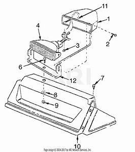 Mtd 31ae983i515  1998  Parts Diagram For Headlight Assembly