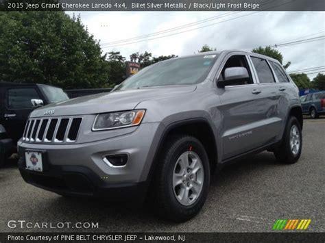 silver jeep grand cherokee 2015 billet silver metallic 2015 jeep grand cherokee laredo