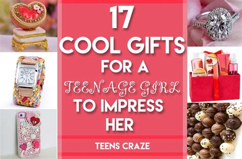 17 Cool Gifts For Teen Girls To Win Her Heart
