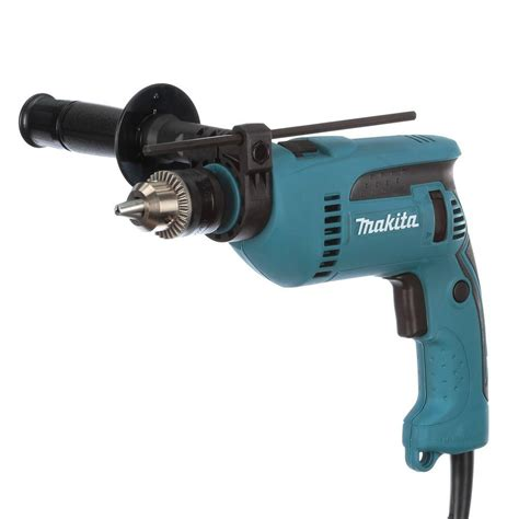 makita 6 5 8 in corded hammer drill hp1640 the home depot