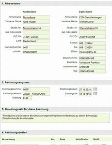 Keine Rechnung Erhalten Verjährung : einfache rechnung online schreiben kostenlos ~ Themetempest.com Abrechnung